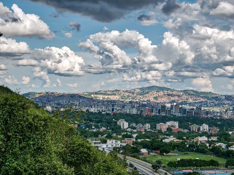 Reisfotografie - cityscape, Caracas, Venezuela stock fotografie