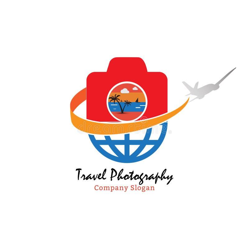 Reisfotografie voor mooi vakantieogenblik stock illustratie