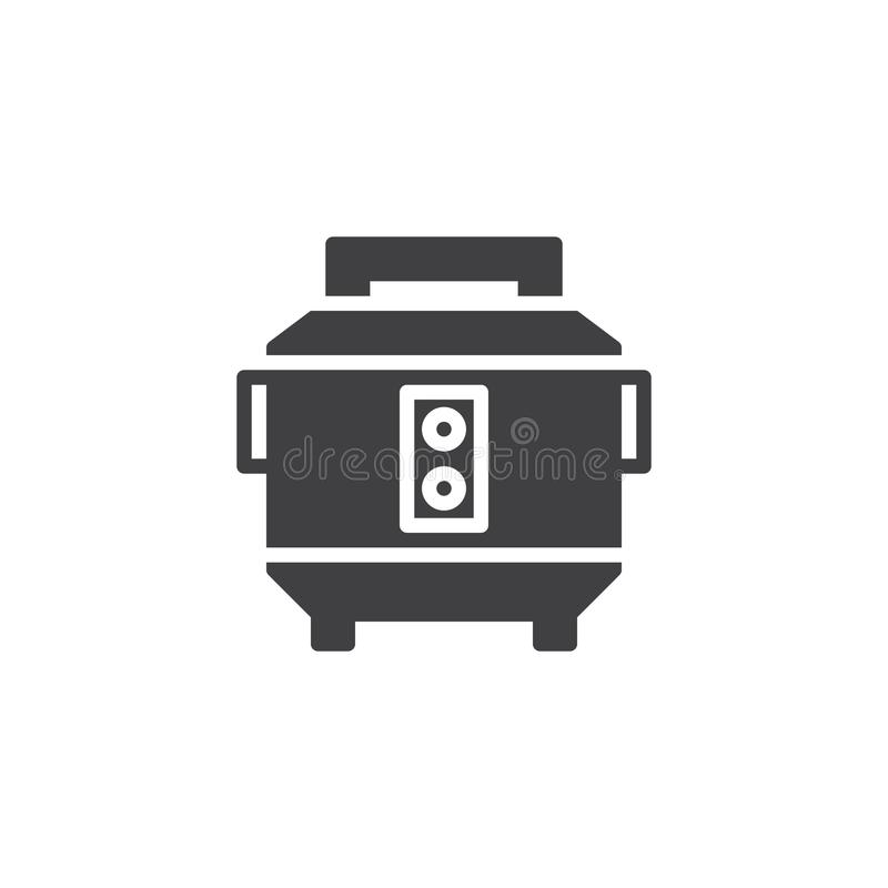 Reiskocher-Vektorikone lizenzfreie abbildung