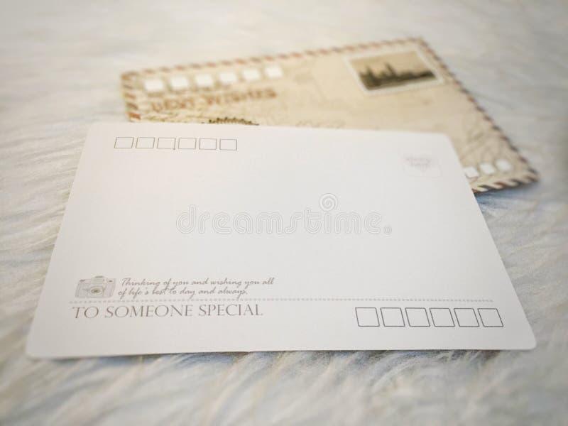 Reisprentbriefkaar royalty-vrije stock foto