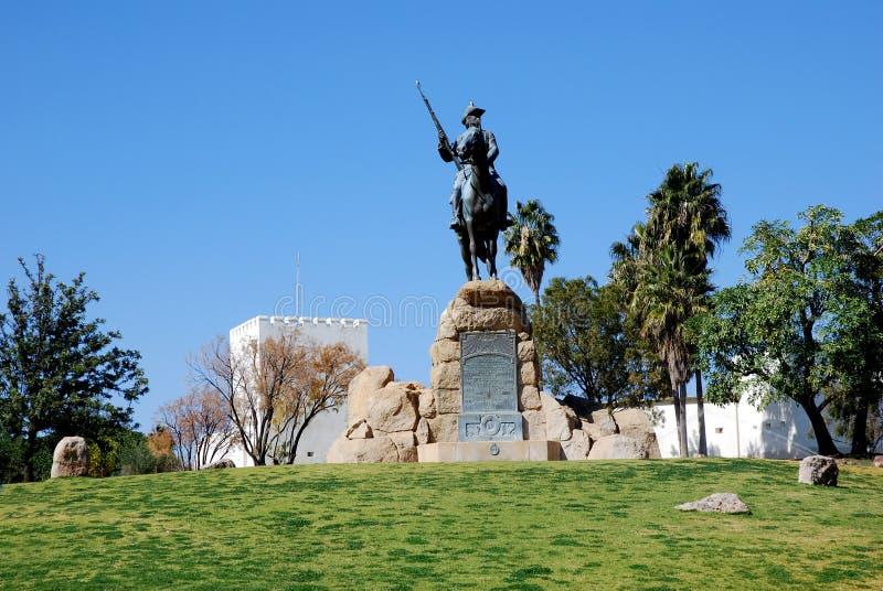 Reitdenkmal , Mémorial équestre à Windhoek, photo libre de droits