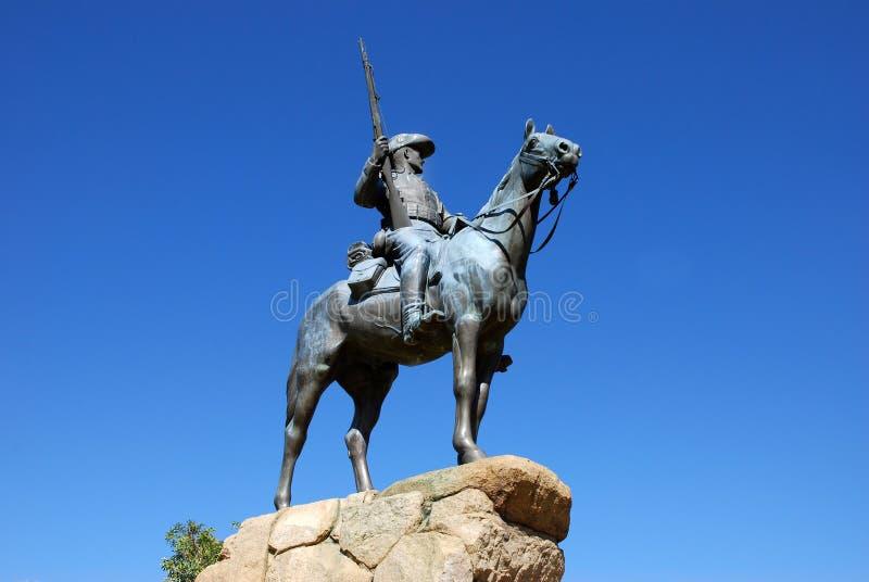 Reiterdenkmal , Monumento ecuestre en Windhoek, foto de archivo