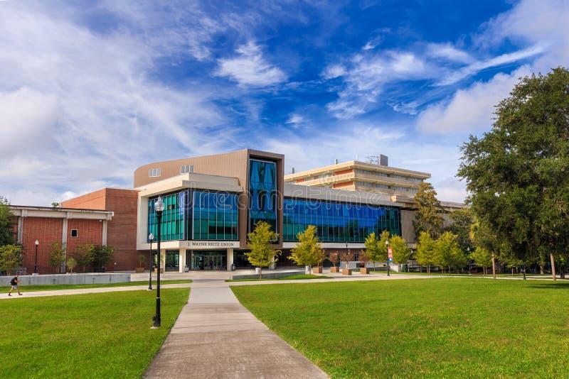 Reitz Student Union de l'Université de Floride photos stock