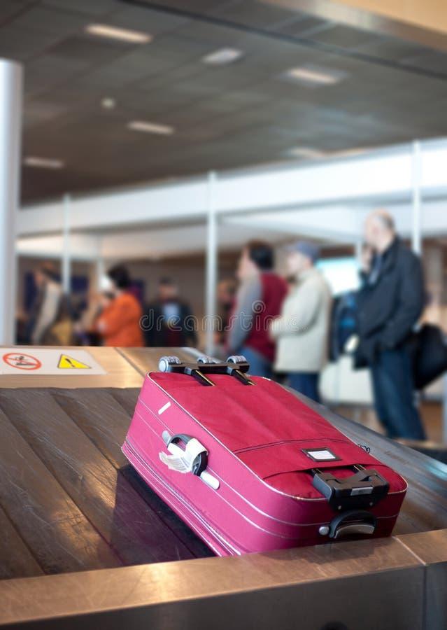 Reivindicação da bagagem do aeroporto fotos de stock