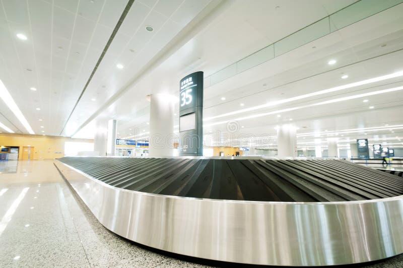 Reivindicação de bagagem foto de stock