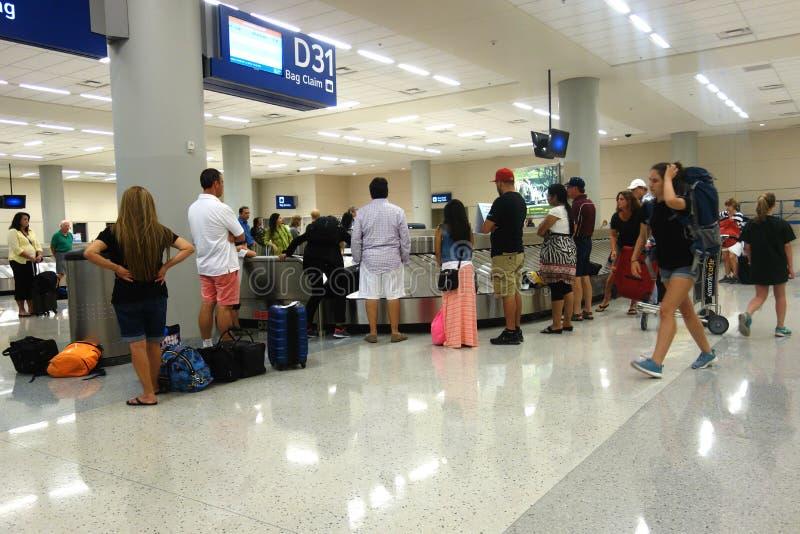 Reivindicação de bagagem fotografia de stock royalty free