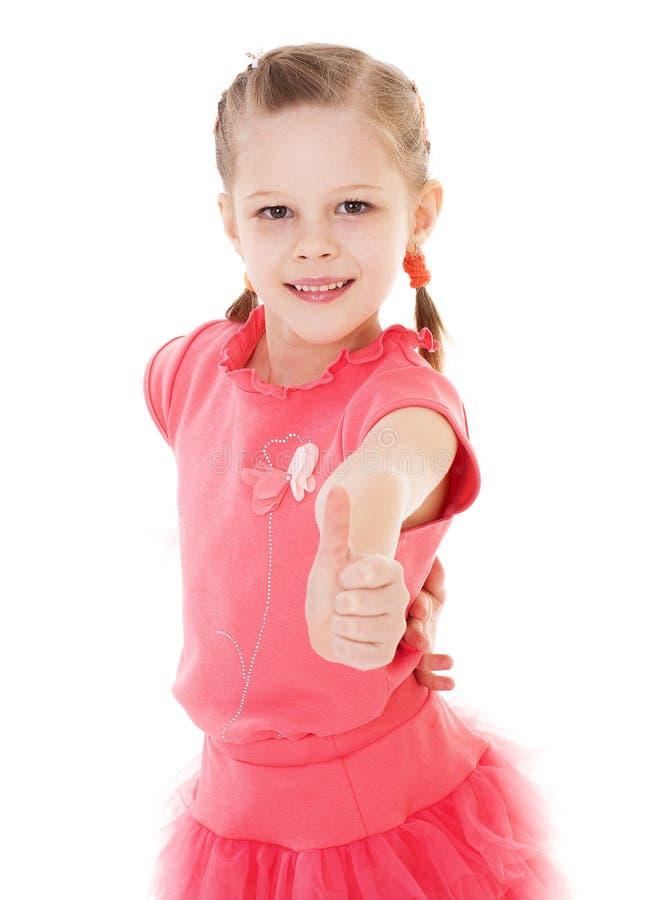 Reizend kleines Mädchen lizenzfreies stockbild
