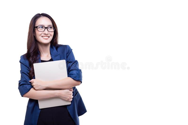 Reizend schöne Geschäftsfrau des Porträts Attraktives schönes stockfoto