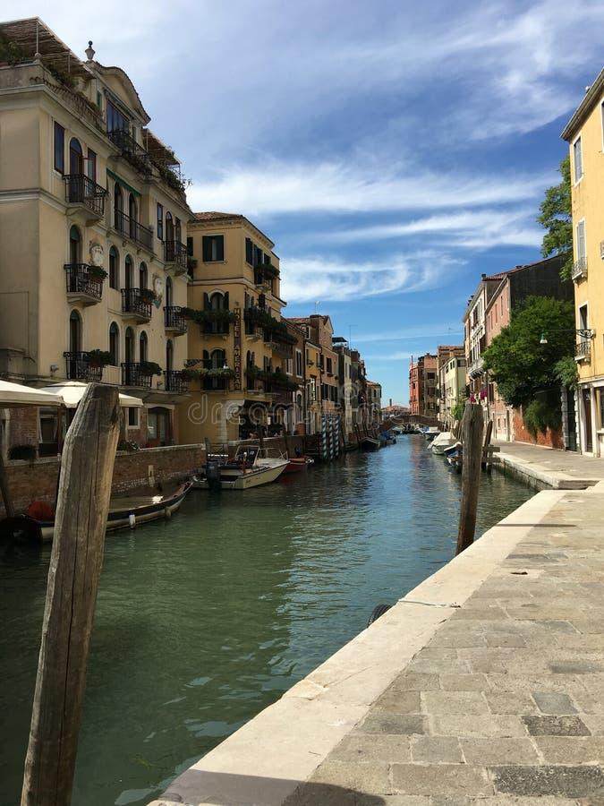 Reizend in Venetië, Italië royalty-vrije stock fotografie