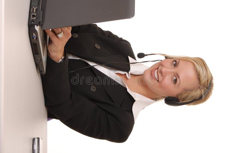 Reizende Geschäfts-Dame 112 lizenzfreies stockbild