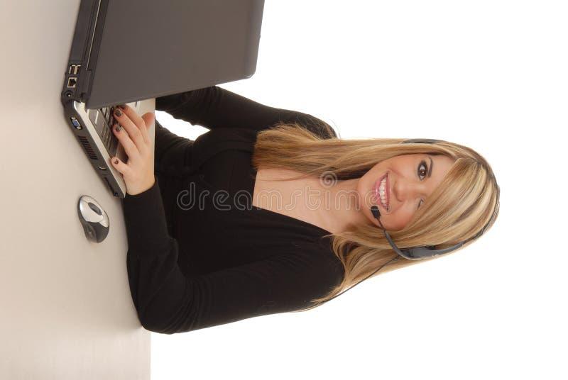 Reizende Geschäftsfrau 22 lizenzfreie stockbilder