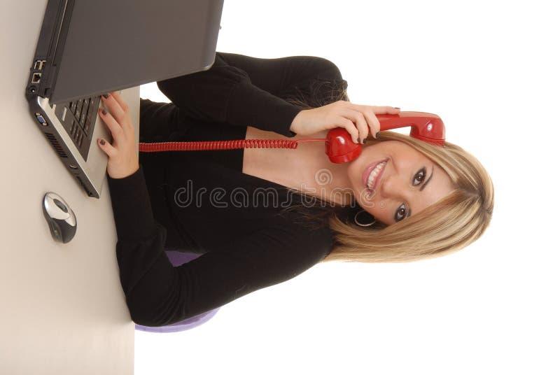 Reizende Geschäftsfrau 4 lizenzfreie stockbilder