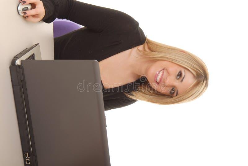 Reizende Geschäftsfrau 7 lizenzfreies stockfoto