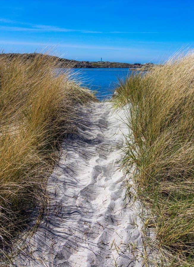 Reizende Inseln mit schöner Natur - Gothenburg, Schweden stockfotografie