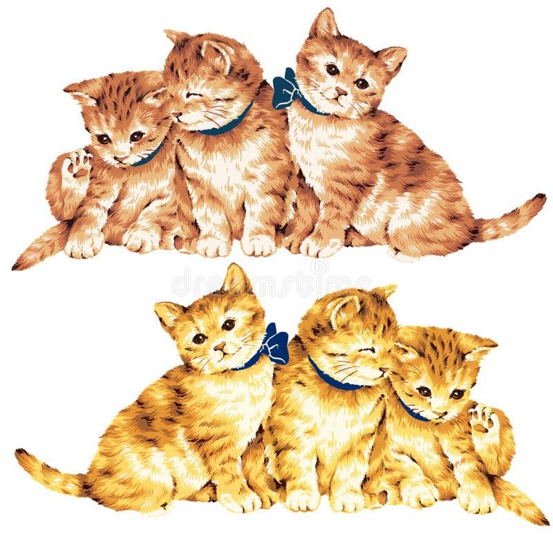 Reizende Katze lizenzfreie abbildung