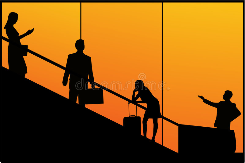 Reizende Mensen stock illustratie