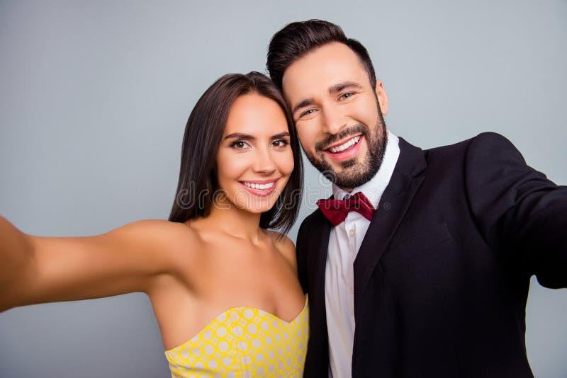 Attraktiver Ehemann Und Frau Fotografieren Stockfoto