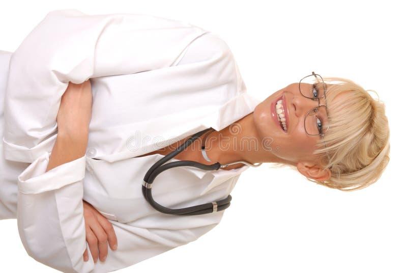 Reizender Doktor oder Krankenschwester stockfotos