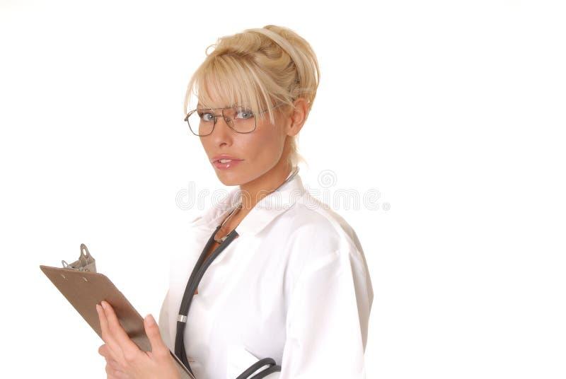 Reizender Doktor oder Krankenschwester lizenzfreie stockfotografie