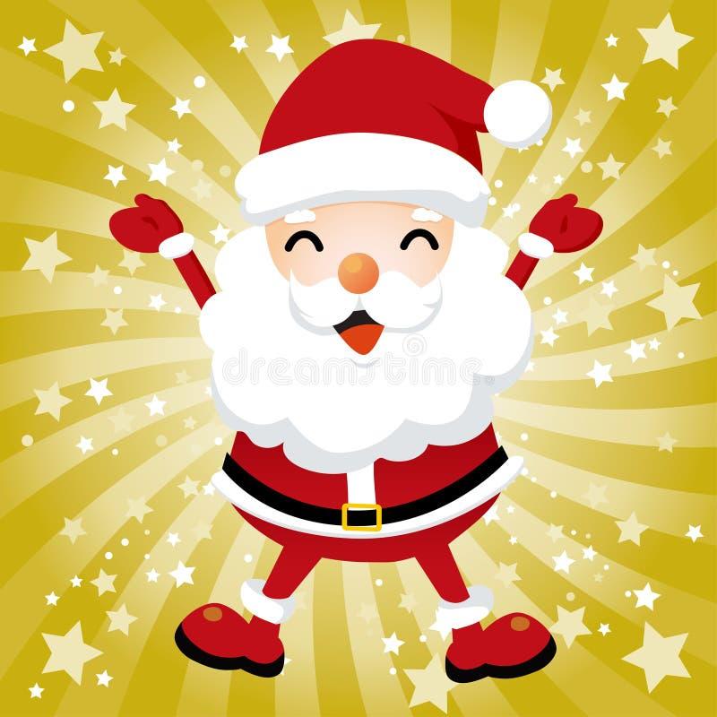 Reizender Weihnachtsmann stock abbildung