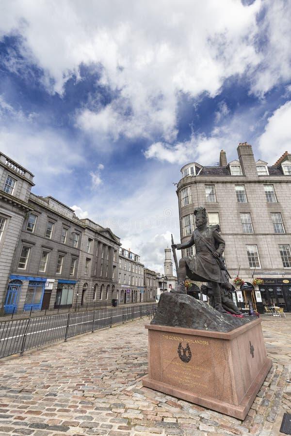 Reizendes Aberdeen lizenzfreies stockfoto