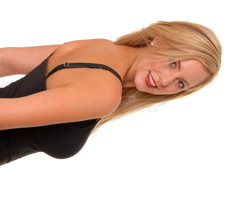 Reizendes blondes Mädchen lizenzfreie stockfotos