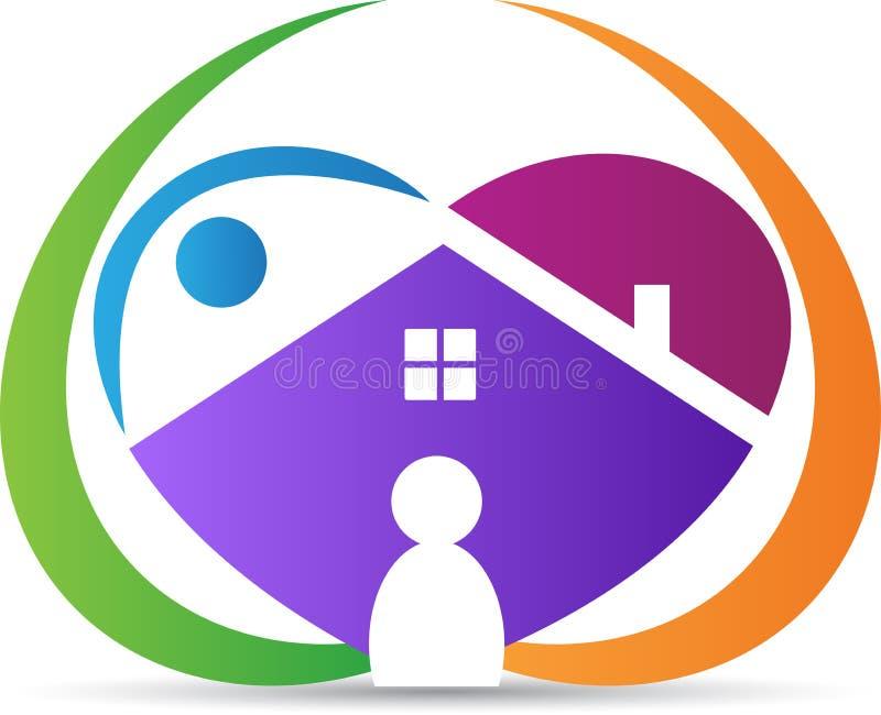 Reizendes Haus vektor abbildung