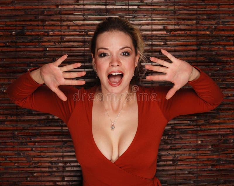 Reizvolle Frau stockfotos