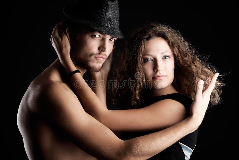 Reizvolle Paare stockfoto