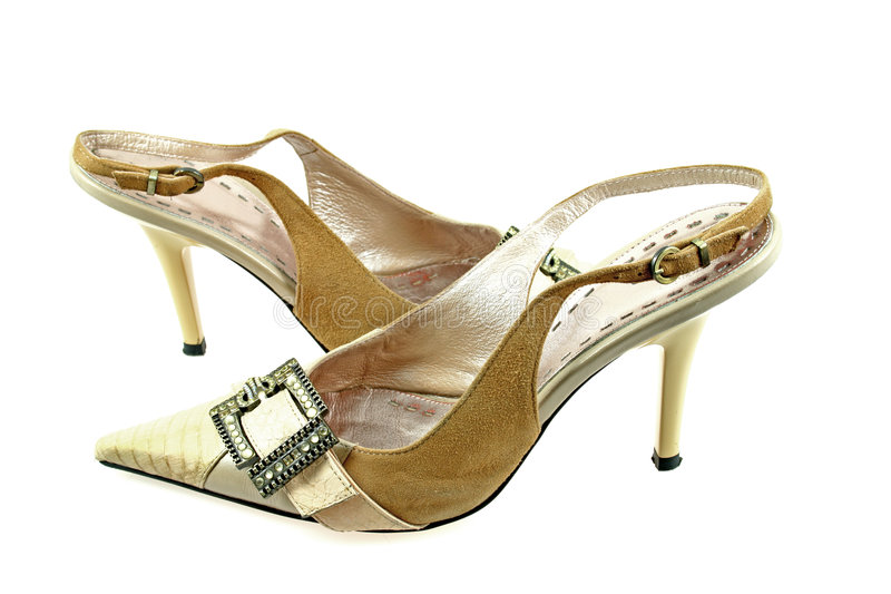 Reizvolle Schuhe stockbild