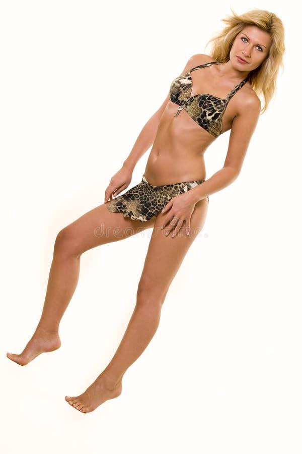 Reizvoller Bikini stockbild