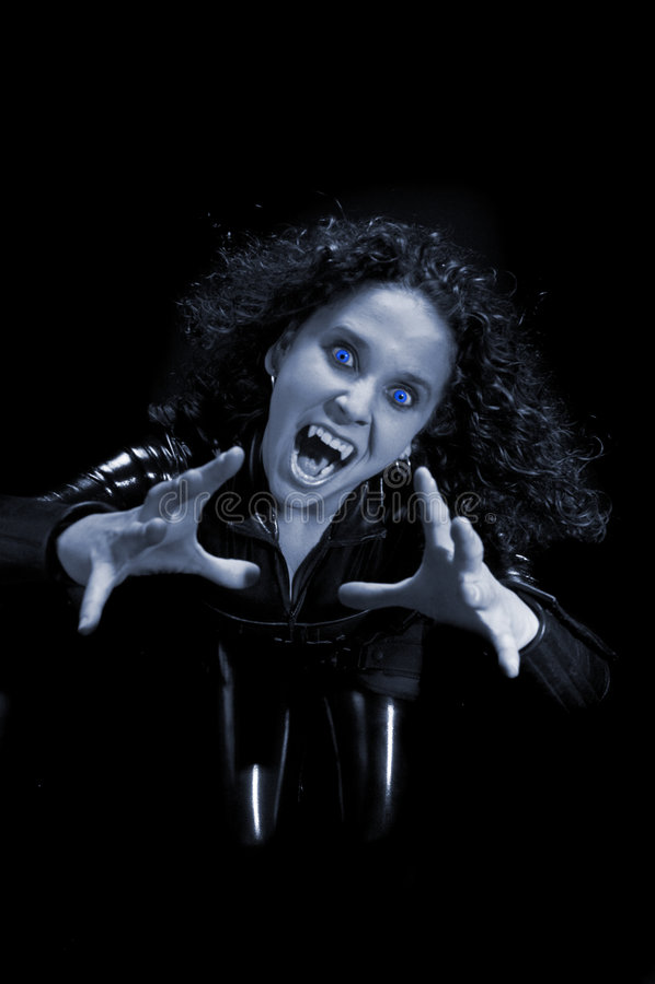 Reizvoller Vampir lizenzfreie stockfotos