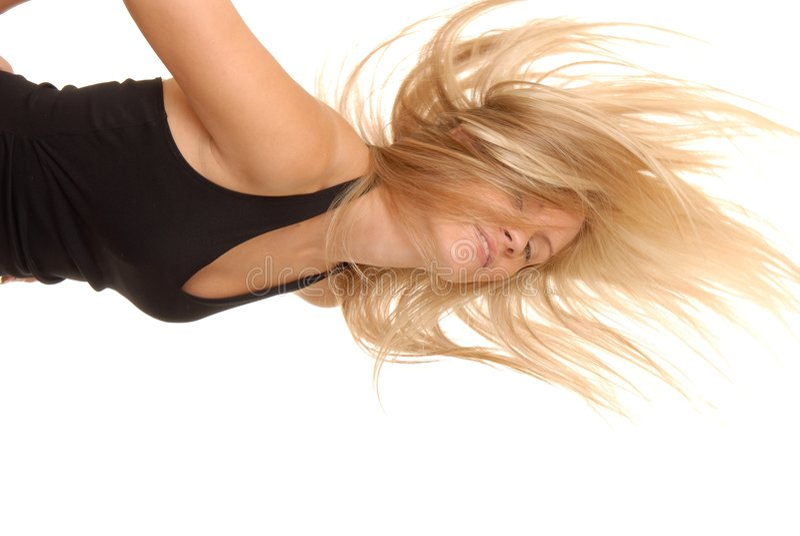Reizvolles blondes Mädchen 45 lizenzfreies stockbild