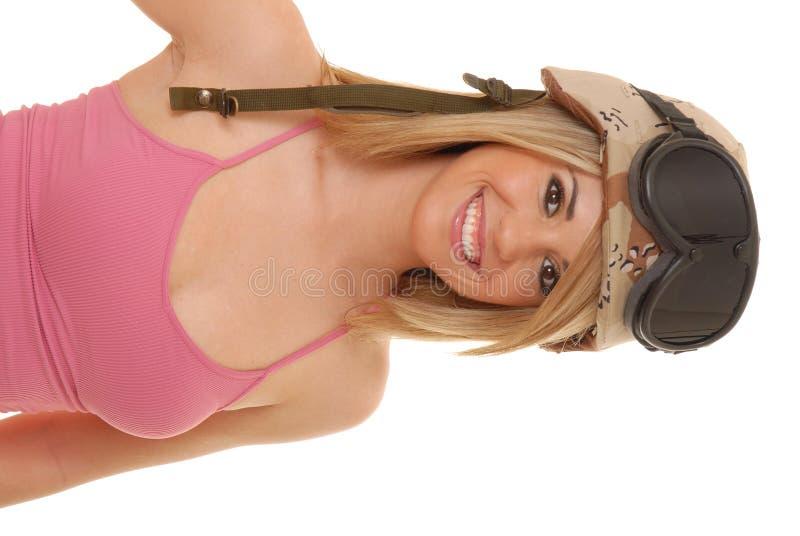 Reizvolles blondes Mädchen 471 stockbild