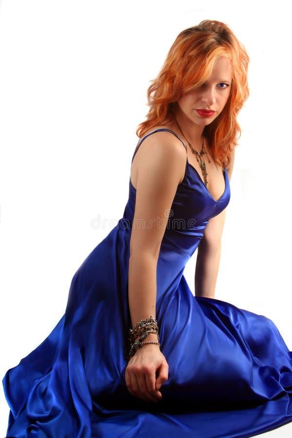 Reizvolles Kleid stockfoto