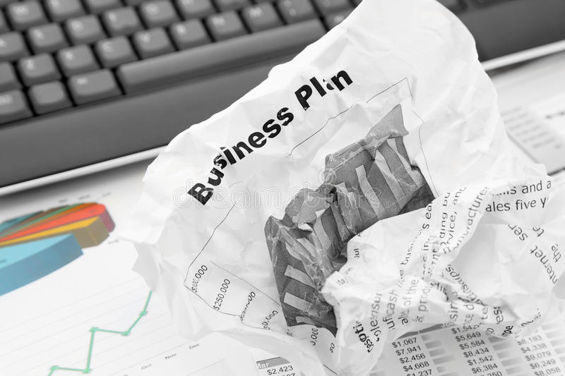 Download Rejected Business Plan stock image. Image of away, business - 26612045