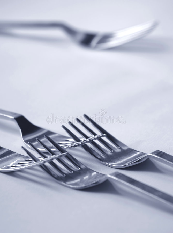 Rejected fork royalty free stock image
