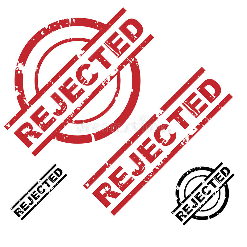 Download Rejected Grunge Stamp Set Stock Photos - Image: 13113083