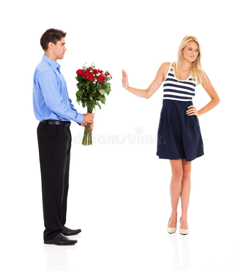 Download Rejected On Valentine's Day Stock Image - Image: 28701943
