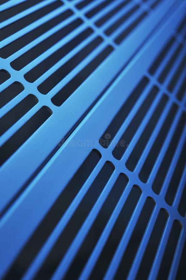 Rejilla de aluminio de la ventilación foto de archivo