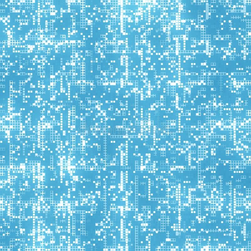 Rejilla de los datos ilustración del vector