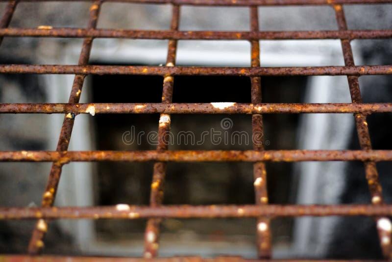 Rejilla del hierro, prisión imagen de archivo libre de regalías