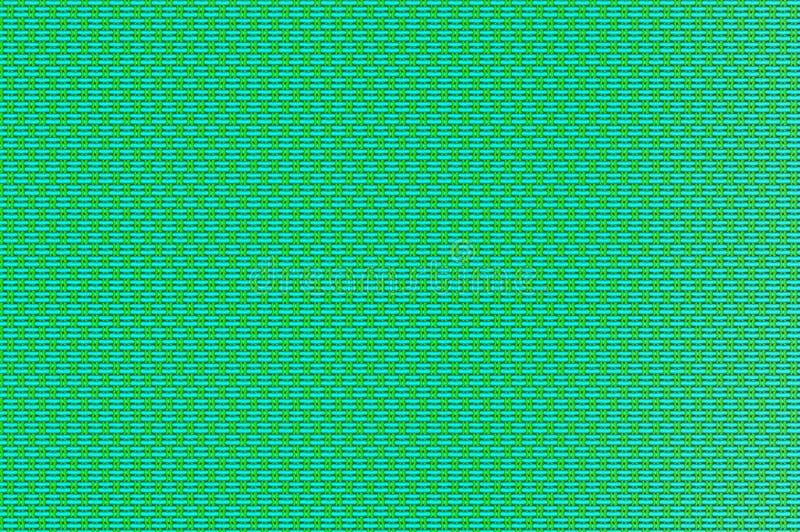 Rejilla entrelazada - turquesa y alambres modelados chartreuses fotografía de archivo