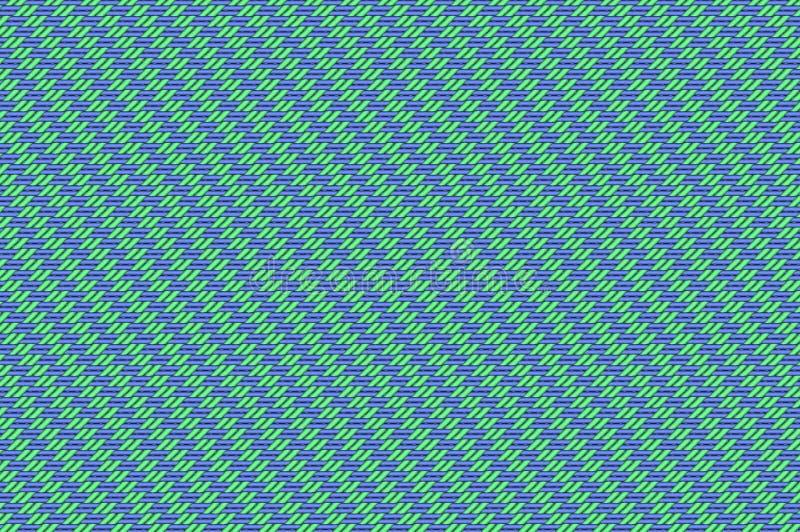 Rejilla entrelazada - violeta y armadura pálida del verde menta imágenes de archivo libres de regalías