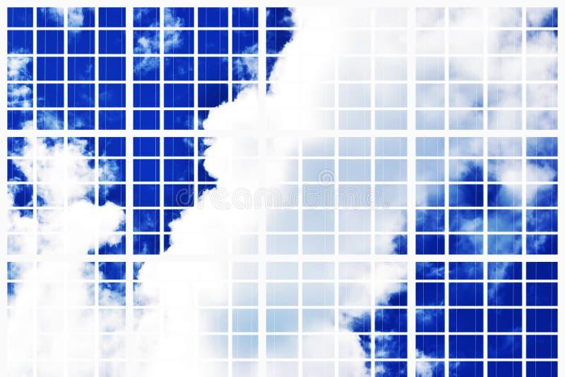 rejilla solar fotos de archivo libres de regalías