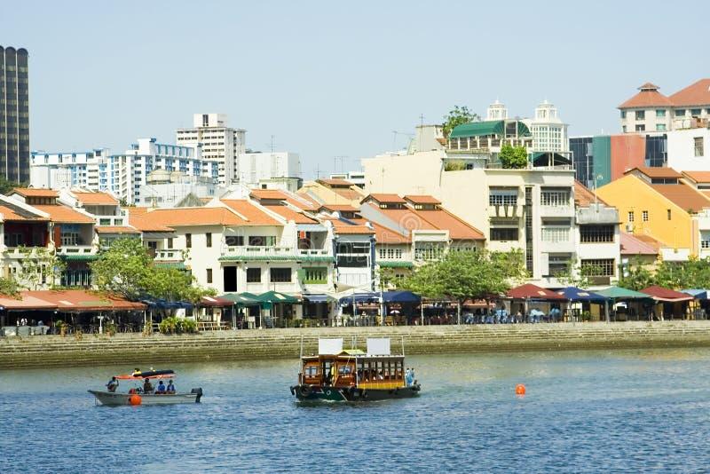 rejs rzeka Singapore quay zdjęcie royalty free