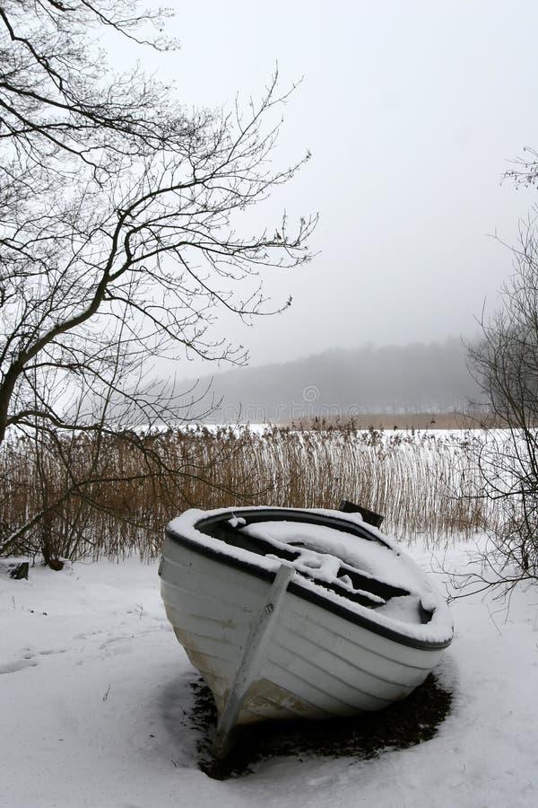rejs zimy mgłowa zdjęcia royalty free