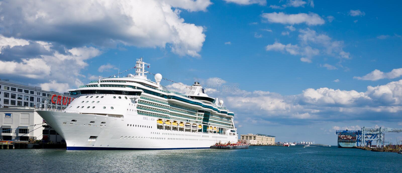 rejsu biżuteryjny morzy statek fotografia stock