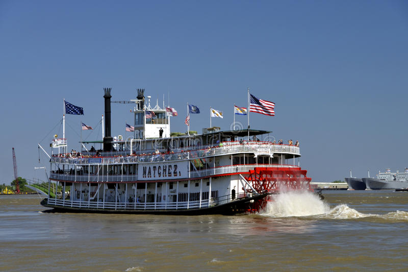rejsu natchez riverboat fotografia stock