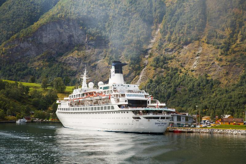 rejsu Norway statek fotografia stock